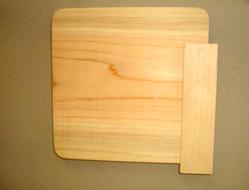 6.木製サイン完成